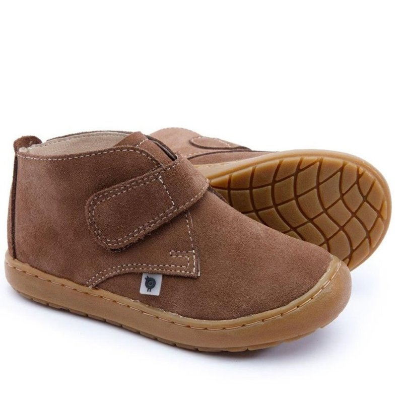 OLD SOLES MAINARD - BROWN SUEDE