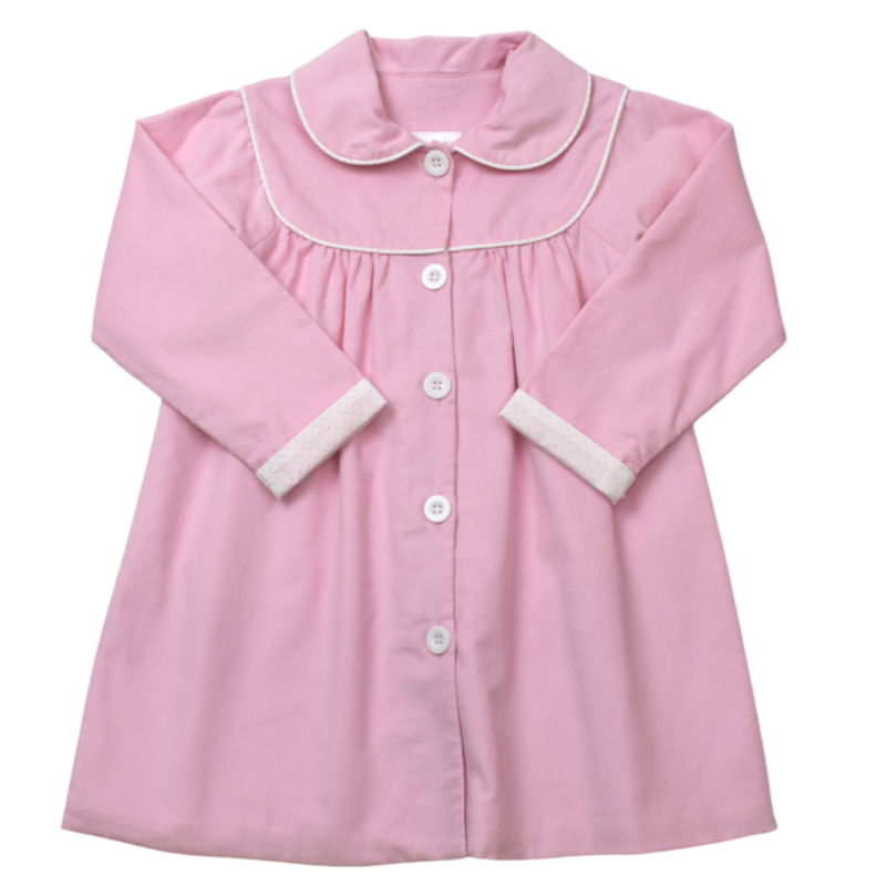 LULLABY SET COLETTE COAT LS - PINK CORD/PINK BITTY DOT