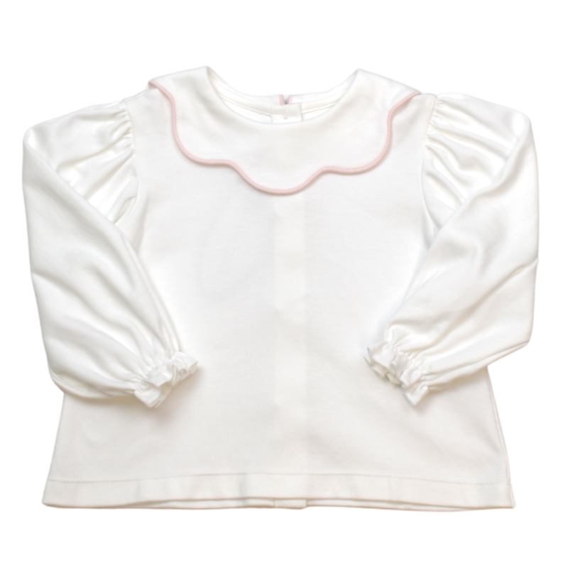 LULLABY SET SCARLETT L/S BLOUSE AND ROBIN SCALLOPED SKIRT - KING OF THE LAND