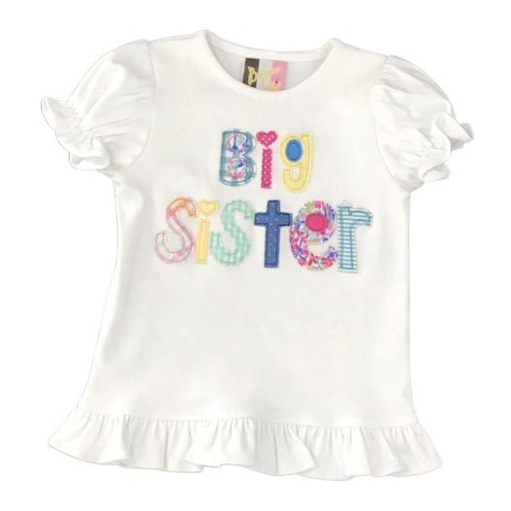 BANANA SPLIT BIG SISTER APPL T-SHIRT