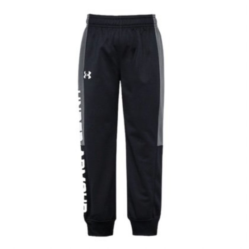 UNDER ARMOUR UA TRYOUT JOGGER - BLACK