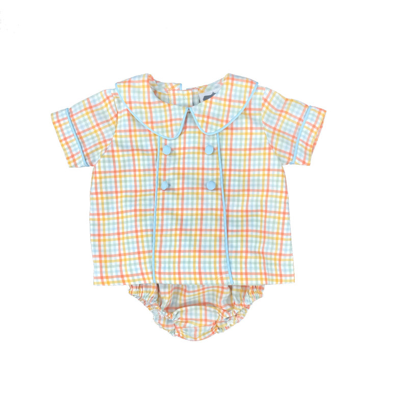 TRUE PIPED CHEST BOYS BLOOMER SET - FALL