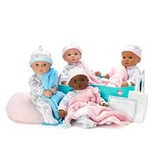 MADAME ALEXANDER ADOPTION DAY BABY GIRL/DARK SKIN BROWN EYES