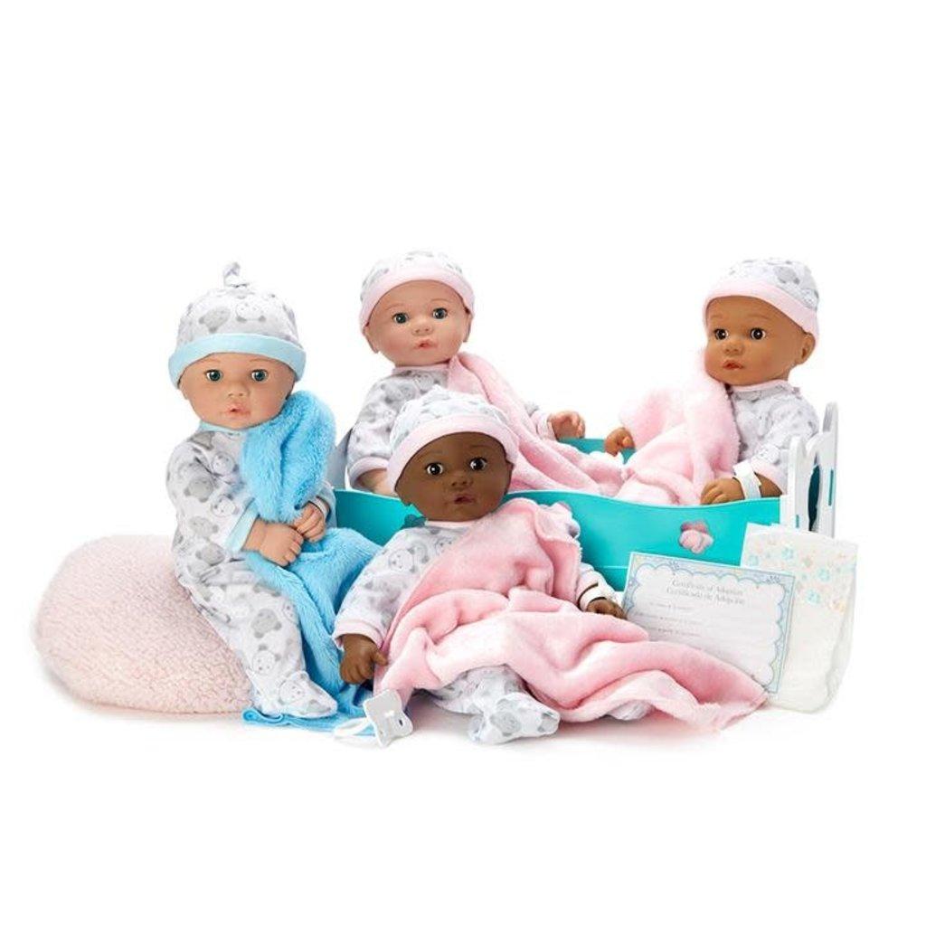 MADAME ALEXANDER ADOPTION DAY BABY GIRL/LIGHT SKIN BROWN EYES