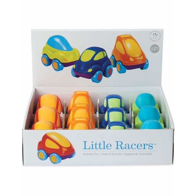 MANHATTAN TOY LITTLE RACERS ASST