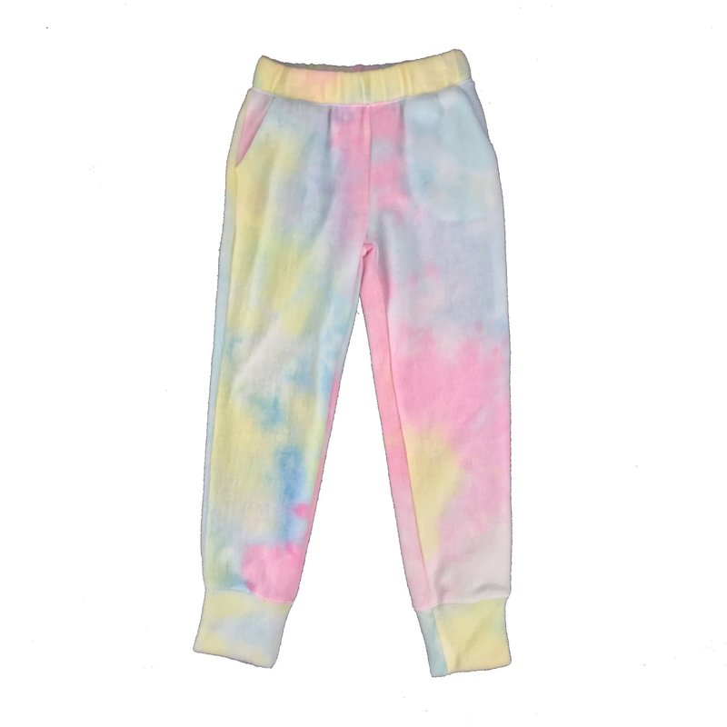 ERGE TIE DYED HACCI PANT - ELECTRIC