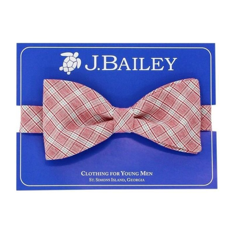 J.BAILEY BOW TIE - WEMBLEY PLAID