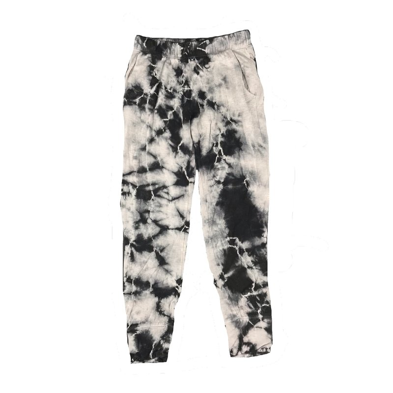 ERGE TIE DYED JOGGER - BLACK