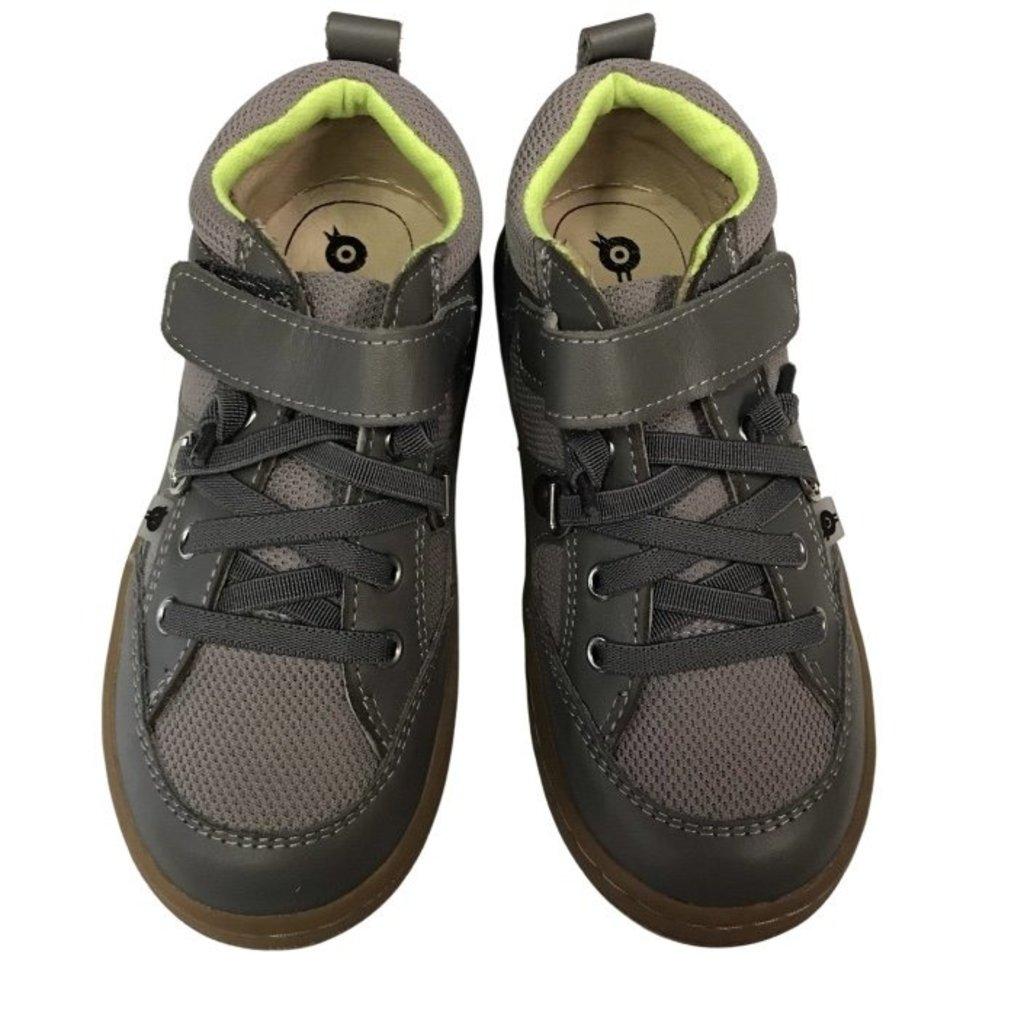 OLD SOLES BRU HIGH TOP - GREY / GREY / NEON GREEN
