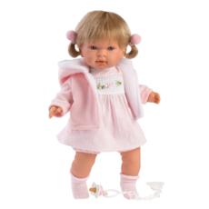 "LLORENS DOLLS CARLA 16.5"" SOFT BODY CRYING BABY"