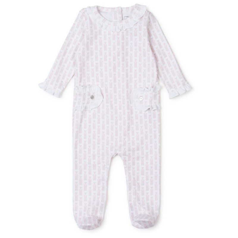 LILA AND HAYES LUCY ROMPER - BALLERINA