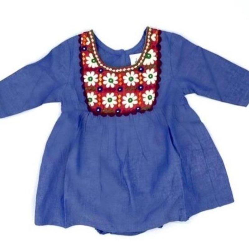 JOYA CHAMBRAY BABY DRESS