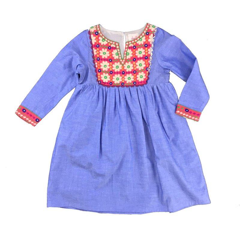 JOYA CHAMBRAY DRESS