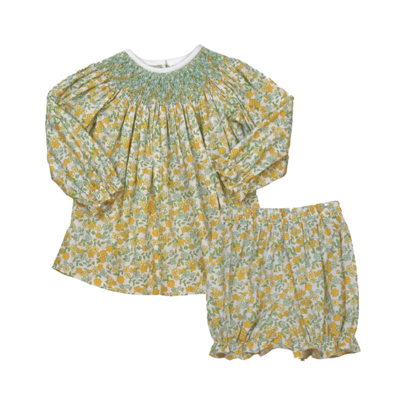 LULLABY SET BETSY BISHOP TOP AND BLOOMER - AUTUMN LEAVES