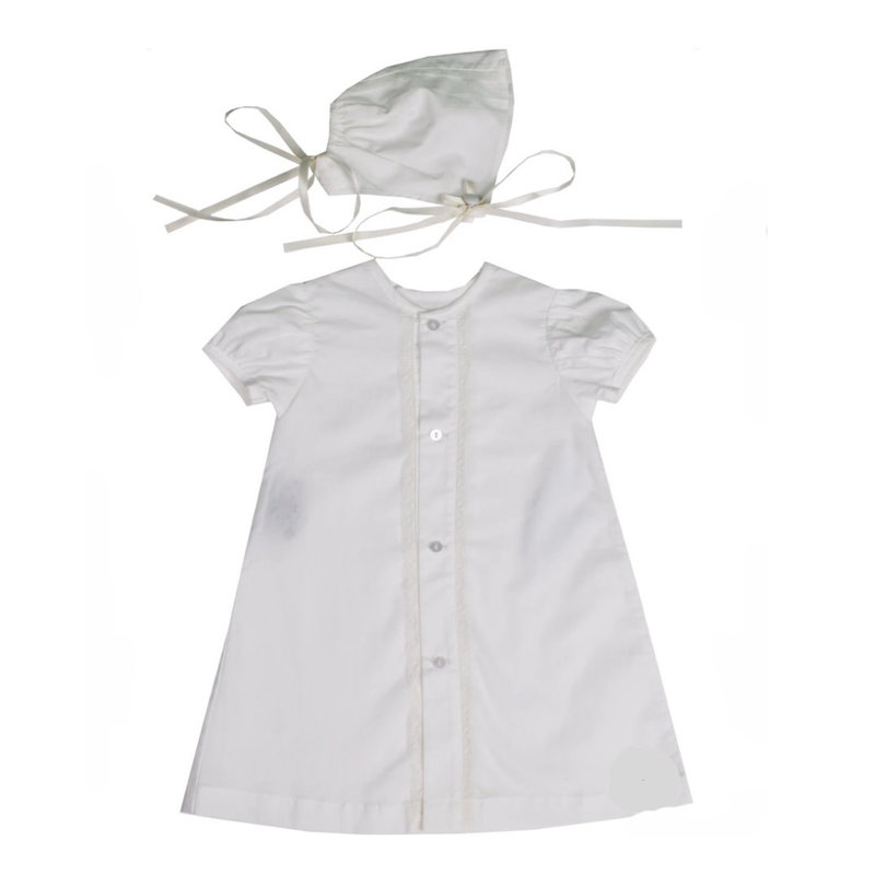 LULLABY SET LEGACY DAYGOWN SET- WHITE