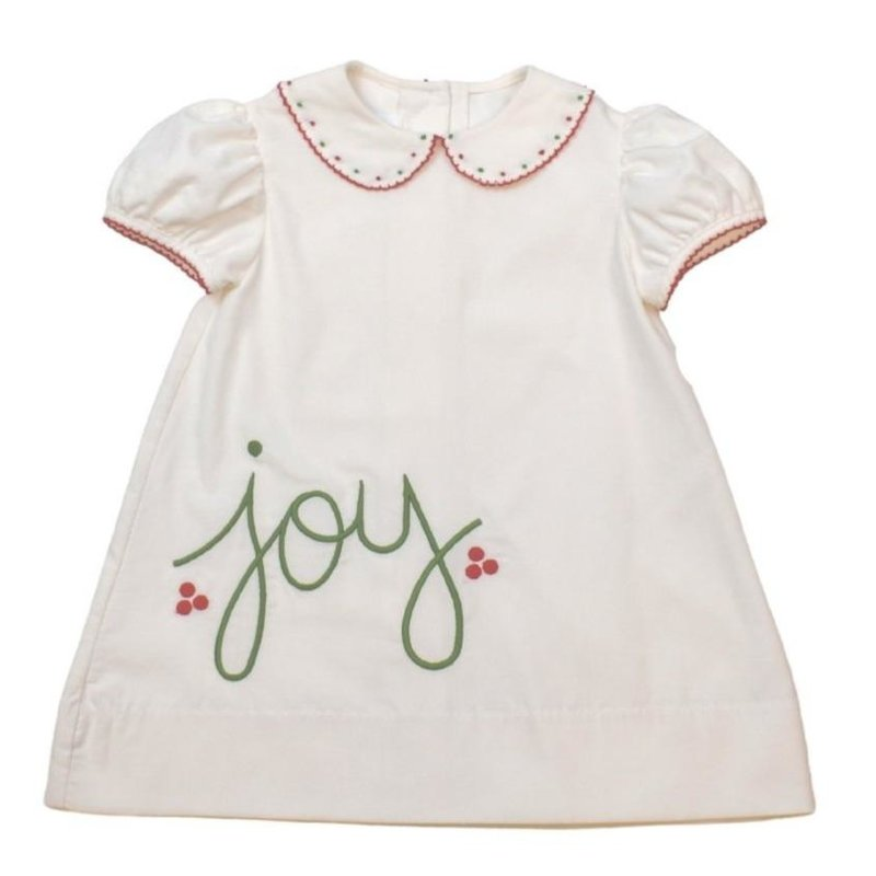 LULLABY SET LEGACY DRESS - BOWS OF HOLLY/WHITE