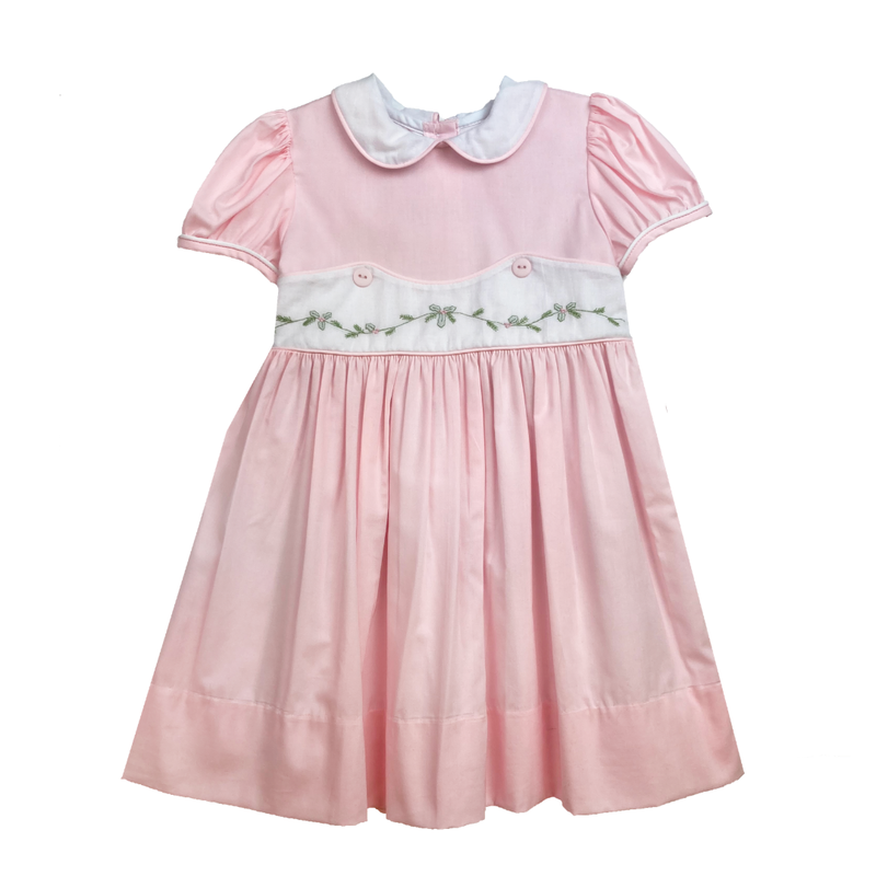 LULLABY SET LEGACY DRESS - OH HOLY NIGHT/PINK