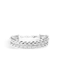 John Hardy Asli Classic Chain Link Multi Row Bracelet