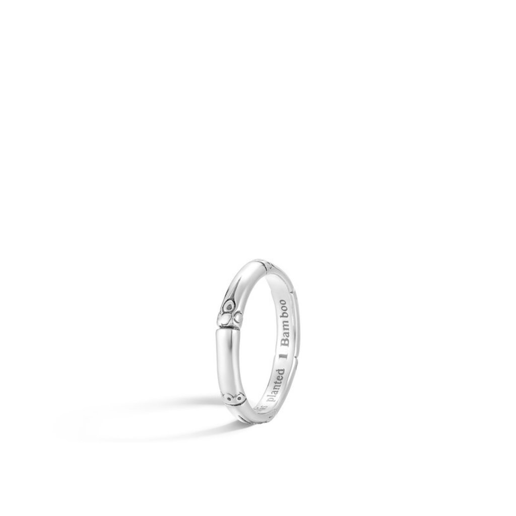 John Hardy Bamboo 3MM Band Ring