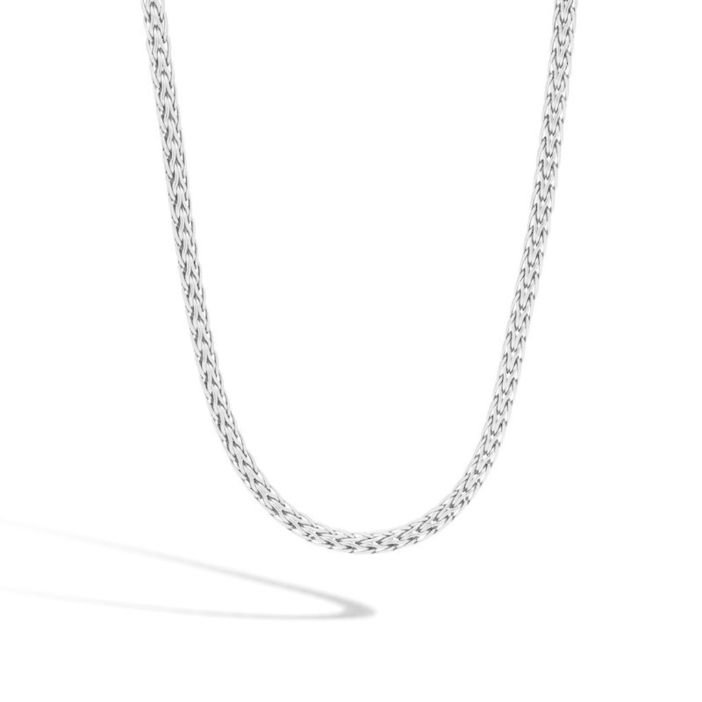 John Hardy Classic Chain 3.5MM Woven Necklace