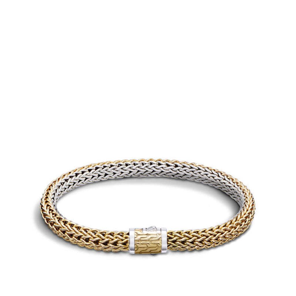 John Hardy Classic Chain 6.5MM Reversible Bracelet