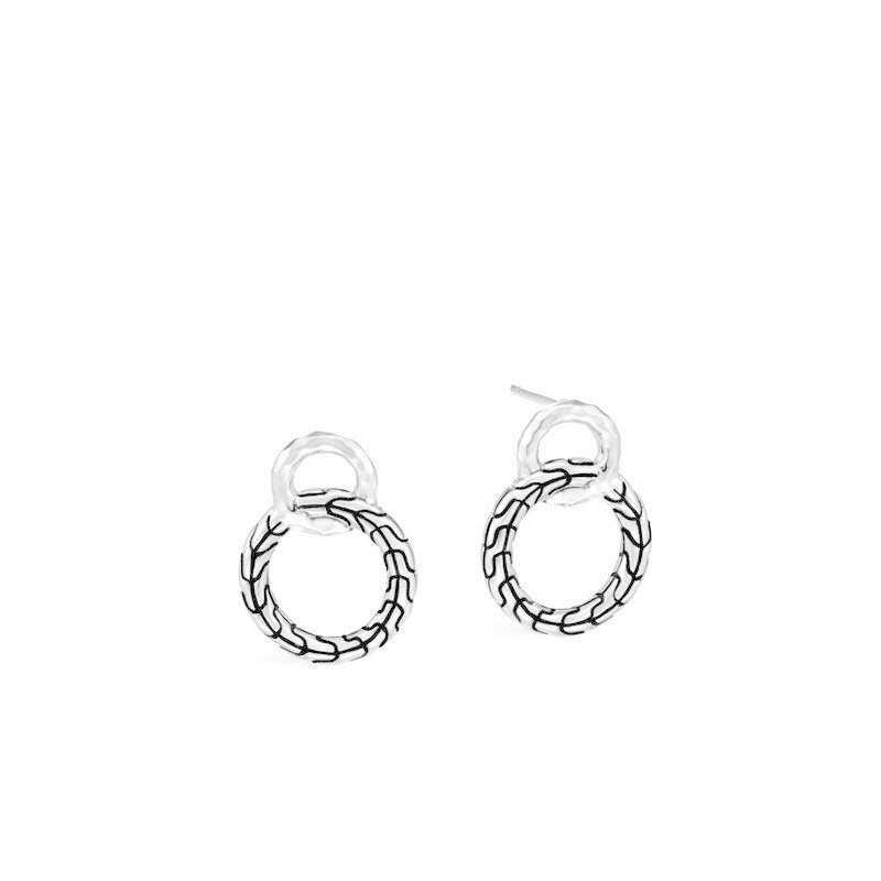 John Hardy Classic Chain Interlinking Stud Earrings