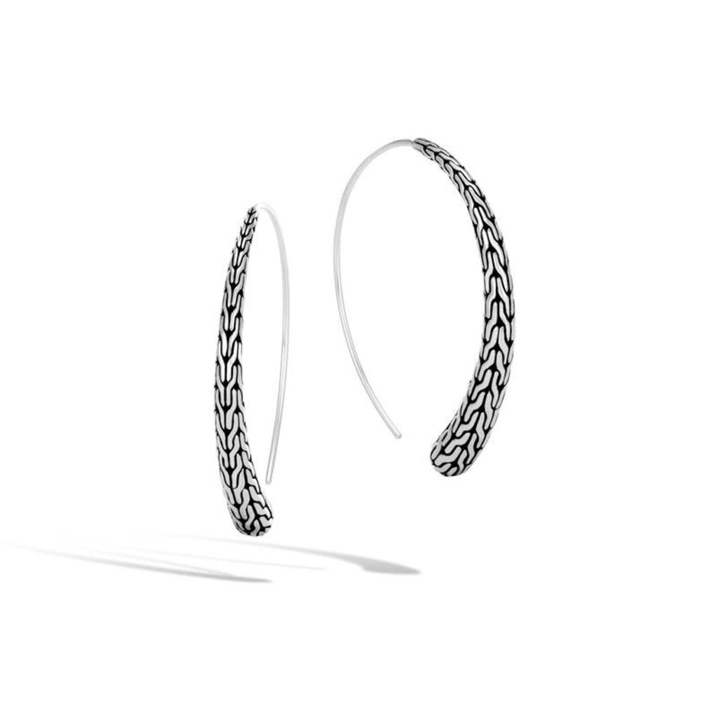 John Hardy Classic Chain Large Hoop Earring