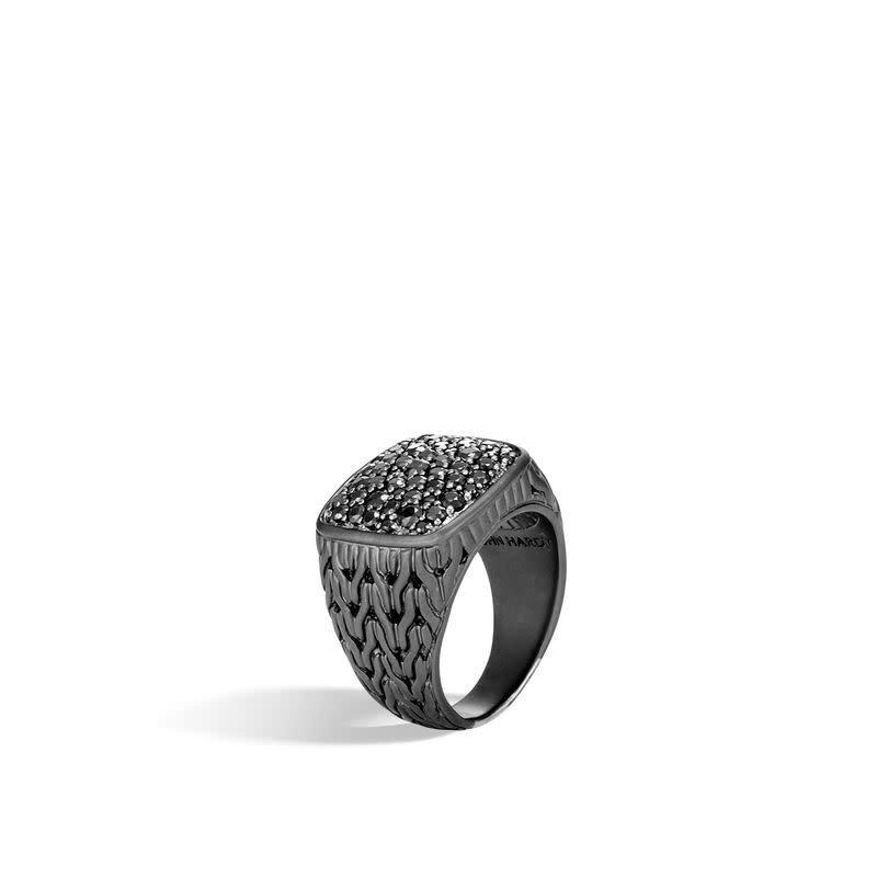 John Hardy Classic Chain Signet Ring