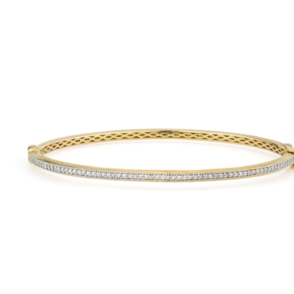 Jude Frances Delicate Diamond Bangle