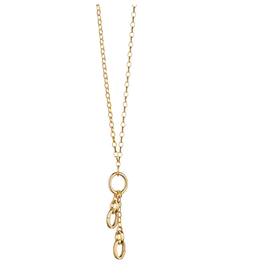 """Monica Rich Design Your Own Small Charm Chain Necklace 18"""""""