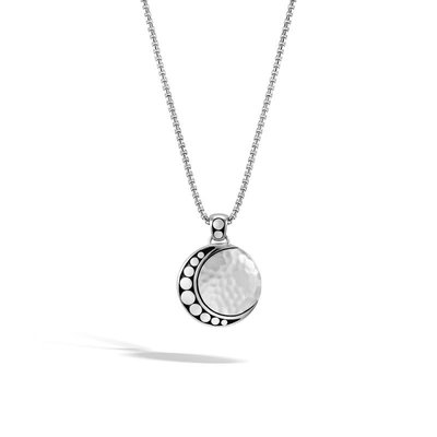 John Hardy Dot Moon Phase Pendant Necklace