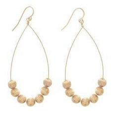 "enewton designs llc 1.75"" Beaded Dignity Drop Earrings"