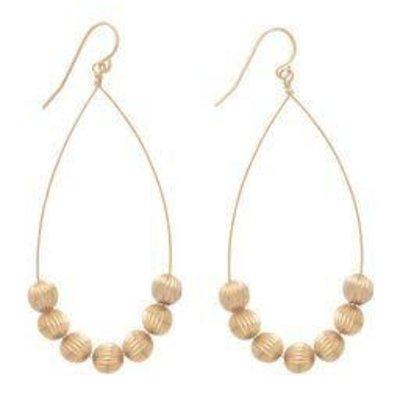 "enewton designs llc 1.75"" Beaded Dignity Drop Earrings"