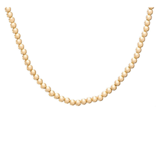 "enewton designs llc 15"" Choker Rose Gold 3mm Bead Necklace"