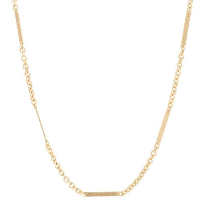 "enewton designs llc 15"" Choker Simplicity Bliss Chain-Gold Necklace"