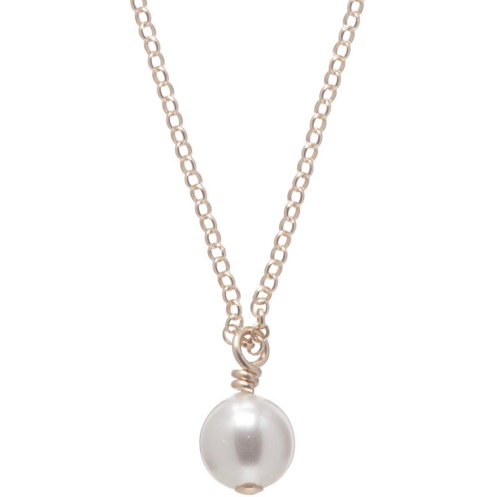 """enewton designs llc 16"""" Clarity Pearl Necklace"""