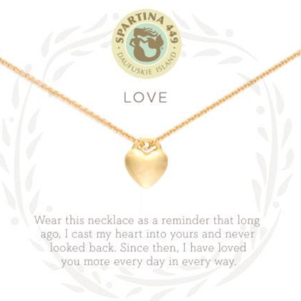 """Spartina 18"""" Sea La Vie  Love Heart"""