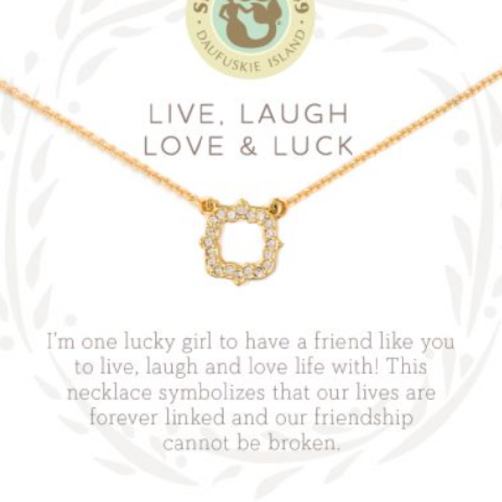 "Spartina 18"" Sea La Vie Live Laugh Love & Luck"