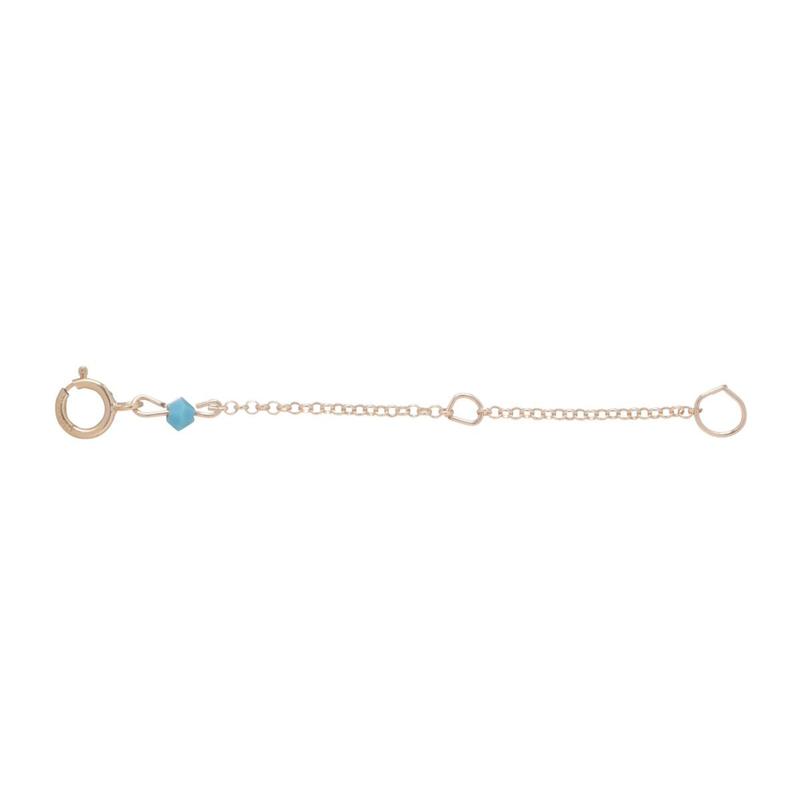 "eNewton Designs, LLC 2"" Necklace Extender Gold"