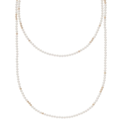 "enewton designs llc 41"" Rose Quartz 4mm Worthy Necklace"
