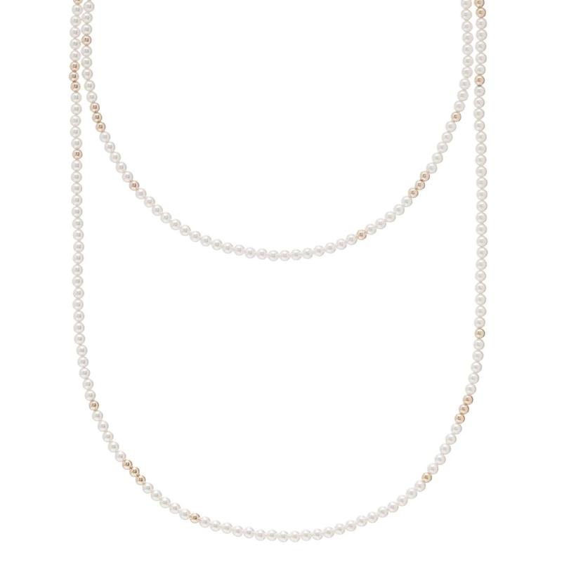 "enewton designs llc 41"" Rose Quartz 4mm Worthy Necklace"