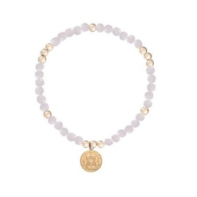 enewton designs llc 4mm Rose Quartz Blessing Bracelet