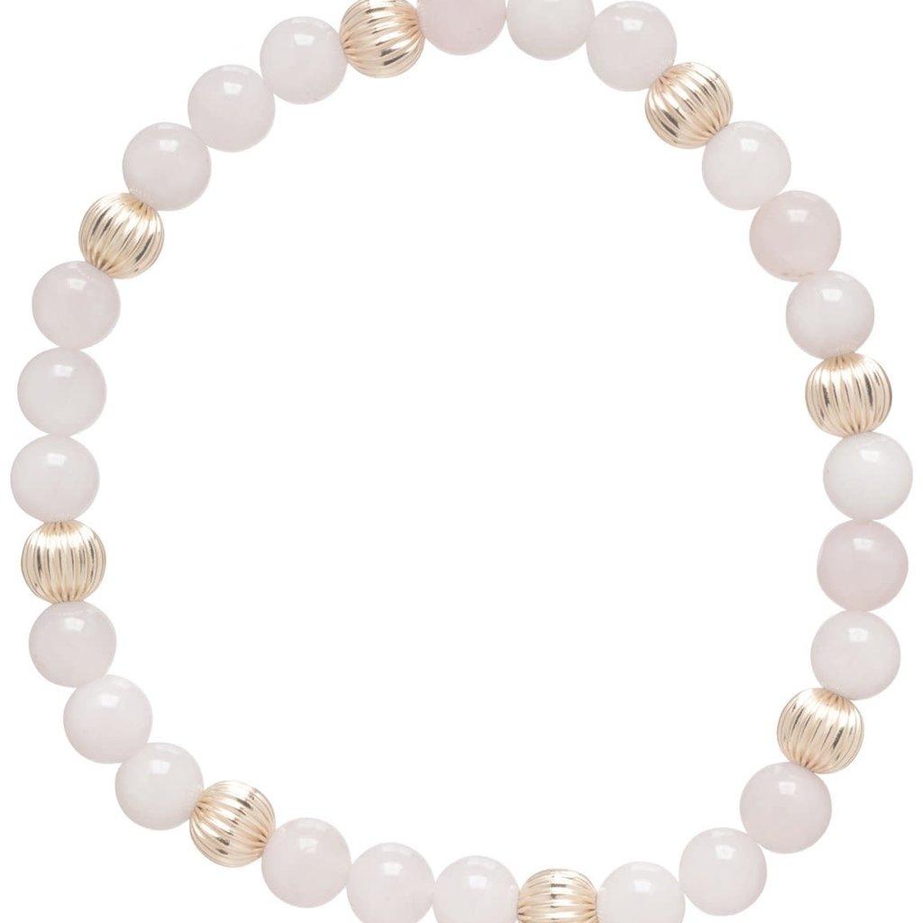 enewton designs llc 6mm Rose Quartz Dignity Bracelet