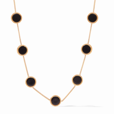 Julie Vos Coin Demi Station Necklace