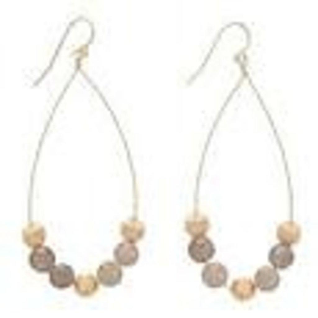 enewton designs llc Dignity Teardrop Agate Earrings