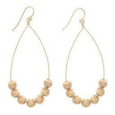 enewton designs llc Gold Dignity Teardrop Earrings