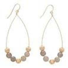 enewton designs llc Hematite Dignity Teardrop Earrings
