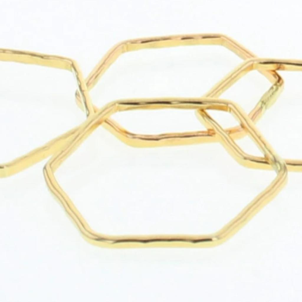 Lotus Jewelry Studio Hexagon Stacking Ring