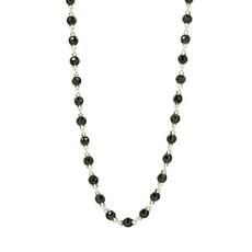 Freida Rothman Industrial Finish Bezel Stone Necklace