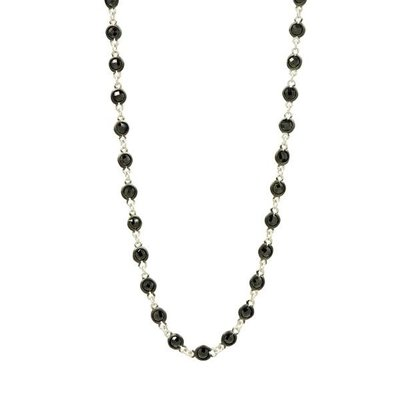 Freida Rothman Industrial Finish Bezel Stone Necklace